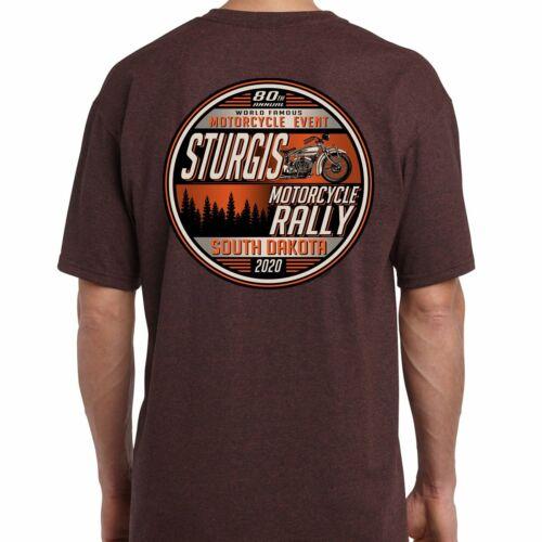 2020 Sturgis Motorcycle Rally Sunset Bike T-Shirt
