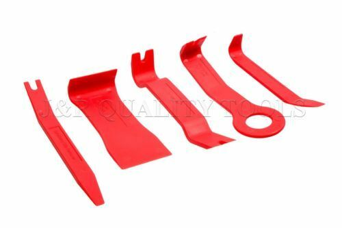 5pc No-Scratch Tools for Removing Fasteners and all types of Moldings
