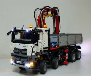 Details About Led Light Kit Only Fit To Lego 42043 Arocs 3245 Truck Lighting Bricks Building