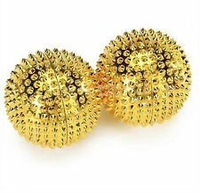 2 x Hand and Body Acupressure Magnetic Spiky Massaging Needles Balls Care Health