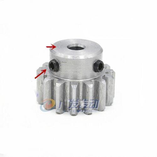 45# Steel Spur Pinion Gear 1.5Mod 12T Outer Diameter 21mm Bore 8mm x 1Pcs