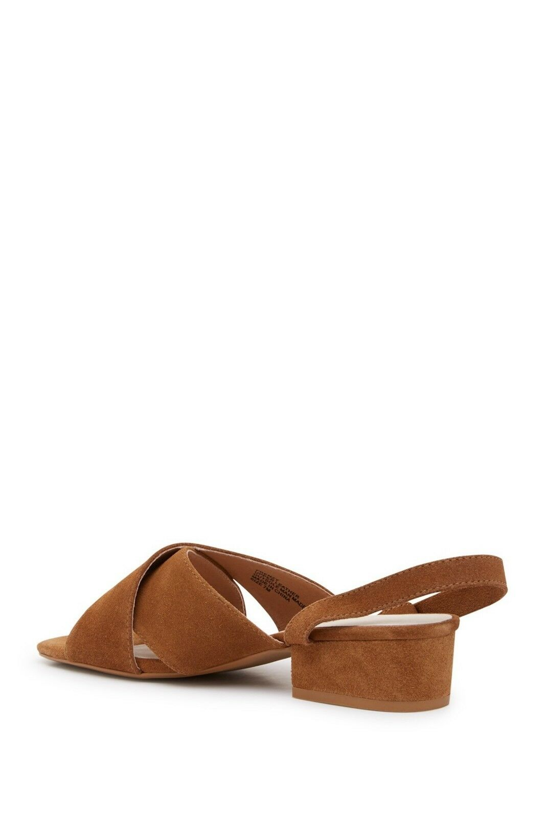 MATISSE Frenzy saddle Brown Suede Ankle Wrap Sandals Sz 8 8 8  150 NIB 265cce