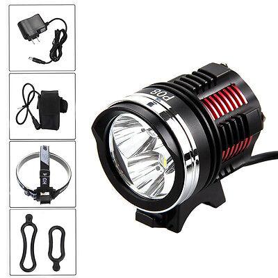 10000Lumen 3x XM-L2 LED Cycling Front Bicycle Bike light Headlight MTB Headlamp