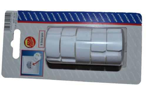 couleur au choix Kopp DÜWI sécurité enfant pour prises set-protection des enfants 5 pièces