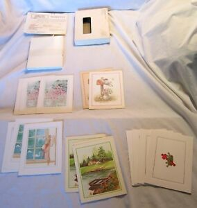 Greeting-Cards-Grand-Encampment-of-Knights-Templar-Vintage-Lot-in-Original-Box