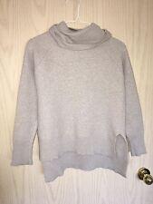 Aritzia Wilfred Free Oatmeal Gray Lin Turtleneck Sweater sz S