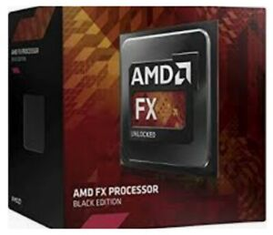 Amd Fx 4300 Vishera Unlocked Quad Core 3 8 4 0ghz Turbo Socket Am3 Processor Ebay