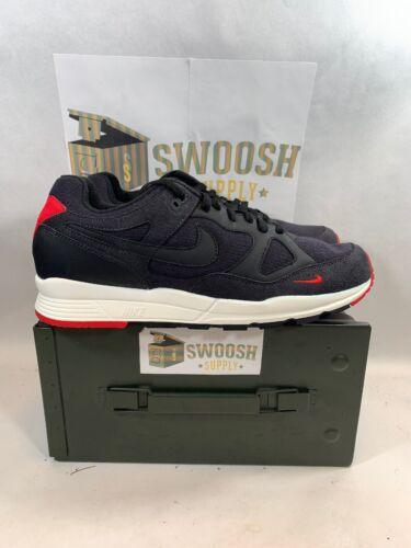 Aq3120 Grootte Sneaker Wit Air Span Ii Zwart 12 002 Rood Se Nike dCoBeWxr