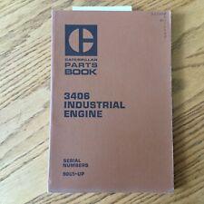 Cat Caterpillar 3406 Parts Manual Book Catalog Engine Diesel Industrial 90u1 Ampup