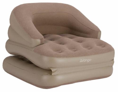 2017 gonflable canapé-lit simple noix de muscade-Neuf Vango