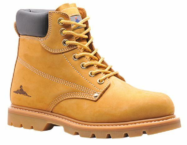 PORTWEST STEELITE WELTED SAFETY démarrage ProugeECTIVE STEEL TOECAP TailleS 7-14 FW17