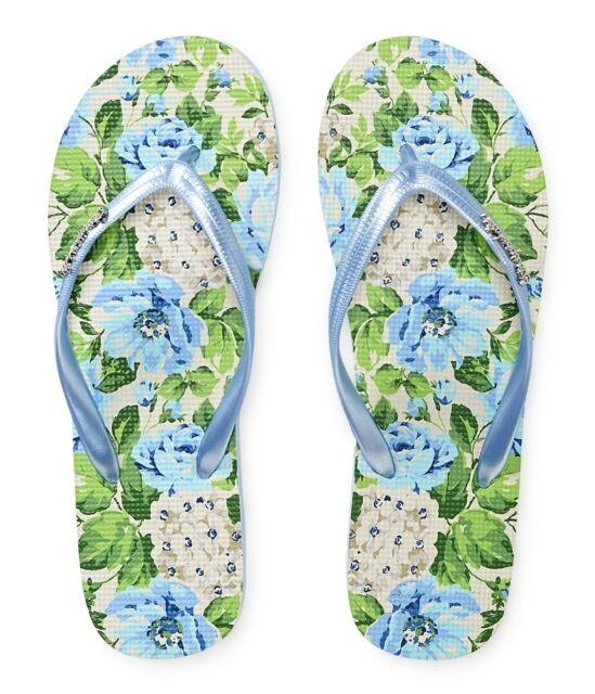 AEROPOSTALE Aero Logo Womens Flip Flops Sandals Thongs Sizes: 6,7,8,9,10