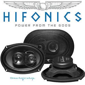 Hifonics-Vulcan-VX-693-6x9-034-3-Wege-Boxen-oval-Auto-Lautsprecher-Hutablage-250-W