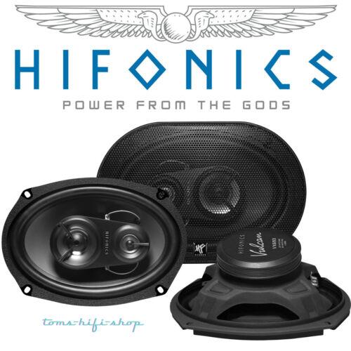 "Hifonics Vulcan VX-693 6x9/"" 3-Wege Boxen oval Auto Lautsprecher Hutablage 250 W"
