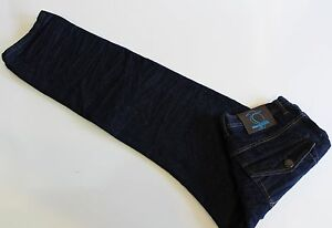 Fabric-by-Blackburn-Designer-Jeans-Size-38-x-37-Crinkle-Classic-Straight-Leg