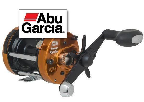 Abu 6500 CS Power Handle Orange   Fishing Baitcast Multiplier