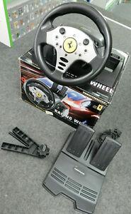 Sega Dreamcast Lenkrad  - Thrustmaster Ferrari Racing Wheel in OVP