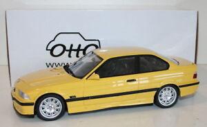 OTTO-Echelle-1-18-resine-OT666-BMW-M3-E36-Jaune