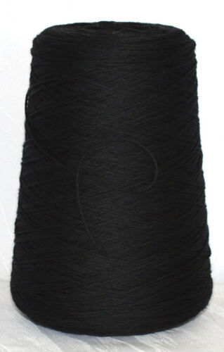 Noir Souple Vêtements en tweed 25 €//kg Super Extra Fine Mérinos konenwolle Baruffa LL 170 m