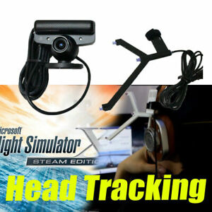 Details about S18-OpenTrack Camera (PS3 EYE) +Track Clip Pro Head Tracking  TrackIR 5 alternate