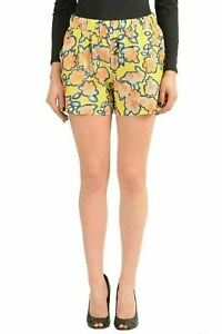 Viktor-amp-Rolf-Silk-Multi-Color-Floral-Women-039-S-Casual-Shorts-US-S-IT-40