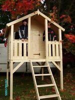 Kinderhaus Tobi Toby Gartenhaus Stelzenhaus Holzhaus Kinder Gerätehaus Spielhaus