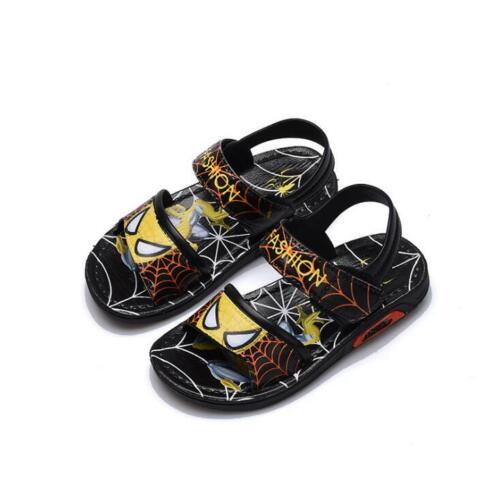 Enfants Chaussures Garçons Sandales spiderman Summer Kids Beach Shoes Cartoon Garçons