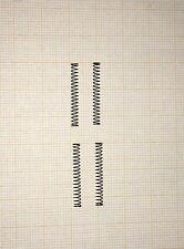 4 x Druckfeder, Länge 23mm, Außen Ø2,75mm, Drahtstärke 0,25mm