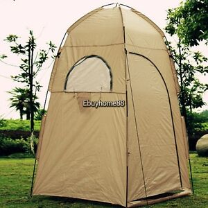 Portable Shelter Camping Beach Shower tent changing outdoor hiking bath room EHE