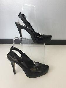 Cavela Woman's Shoes High Heels Black