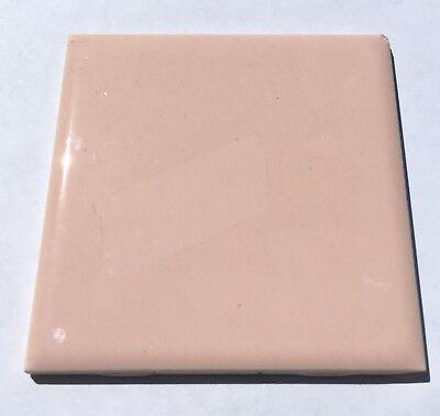 Surplus 1Sq Ft Peach 4x4 Vintage Ceramic Tile /'Mosaic/'