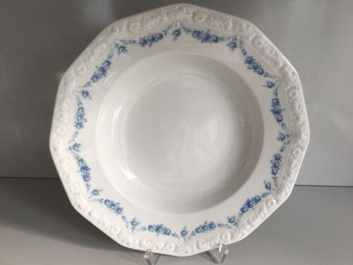 Rosenthal MARIA Rosenkante blau SUPPENTELLER  ca 23,5 cm Plate deep