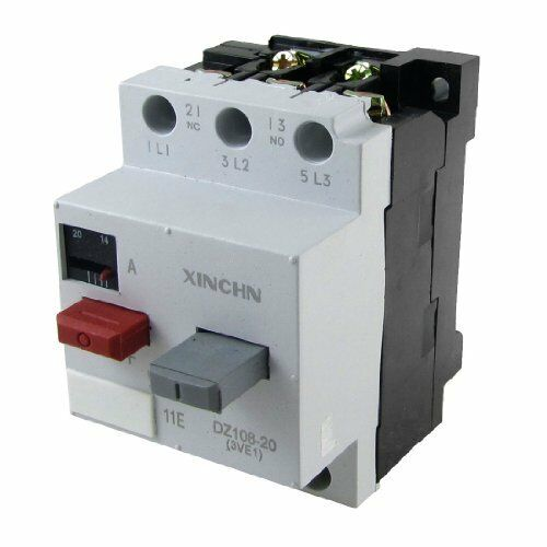 DZ108-20 3VE1 3P 14-20A Circut Breaker for Motor Protection