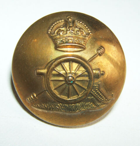 23 mm BOUTON ARMEE ANGLAISE WWII ROYAL ARTILLERY