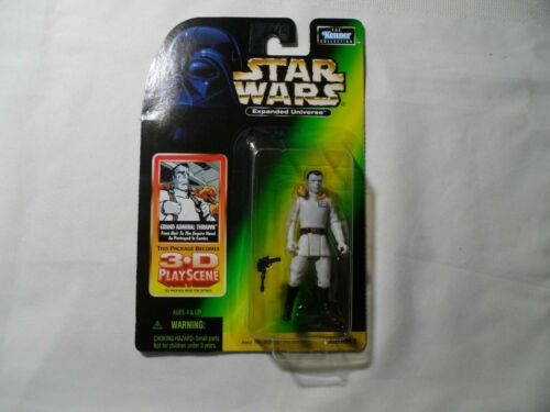 STAR WARS EXPANDED UNIVERSE collection KENNER Thrawn sur carte 3D playscene