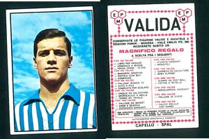 Fabio-CAPELLO-SPAL-1965-66-EDIZIONI-Panini-Nuovo-di-zecca-NOVELLINO