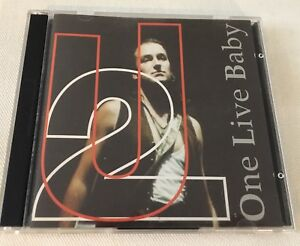Details about U2 - ONE LIVE BABY (LIVE IN FLORIDA 1992) - ITALY COCOMELOS  RECORDS 2CD double