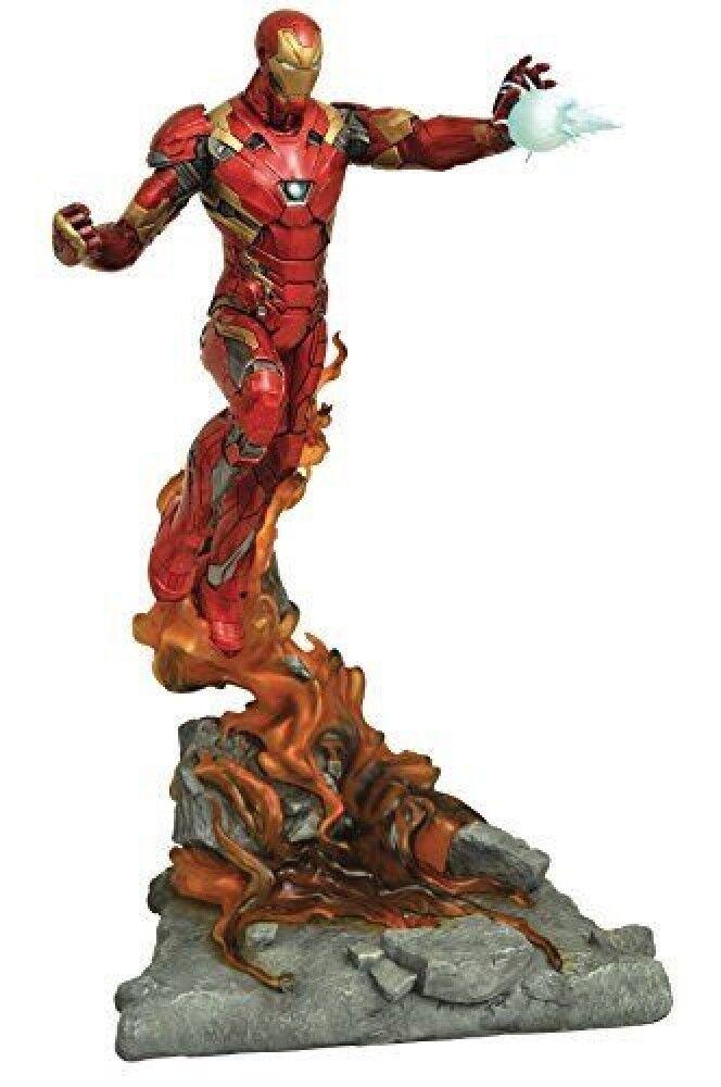 Diamond Select Toys Marvel Milestones Captain America Civil War Movie Iron  F/S