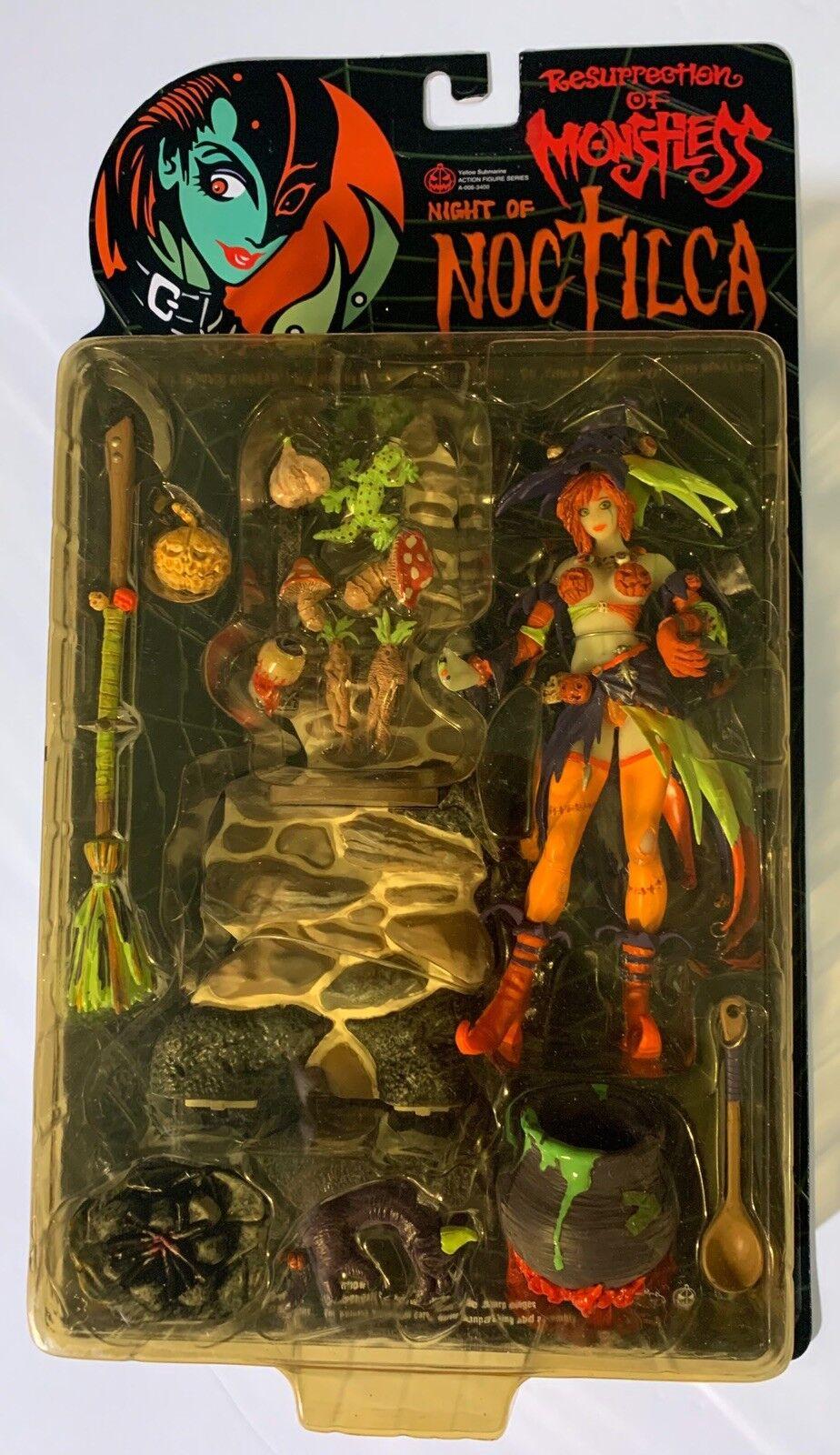 Auferstehung monstress nacht noctilca hexe action - figur mit nirasawa