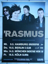 THE RASMUS  2012 TOUR   orig.Concert-Konzert-Tour-Poster-Plakat DIN A1