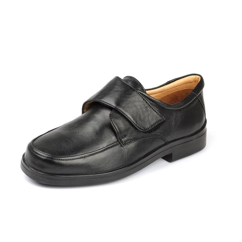 Sandpiper LINEA uomo scarpe Terry Touch scarpe Fissaggio Extra Wide Fit scarpe Touch di pelle imbottito 032e7b