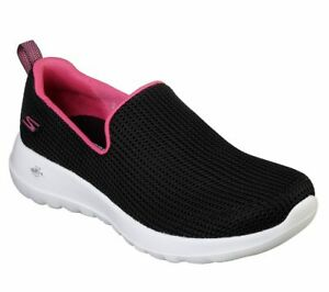 Skechers-Women-039-s-Go-Walk-Joy-Centerpiece-Goga-Shoe-Walking-Slip-On-Casual-15637