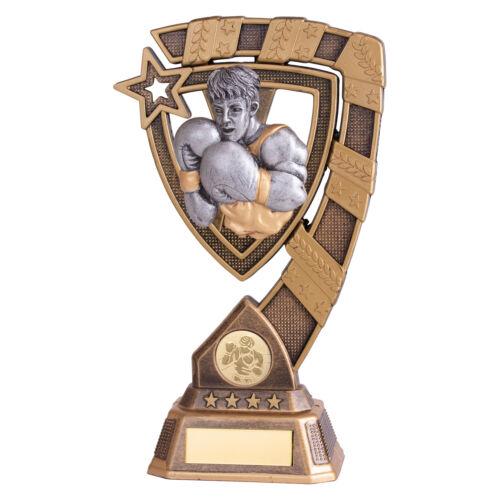 Boxing Trophies Euphoria Boxer Boxing Awards Trophy 4 sizes FREE Engraving