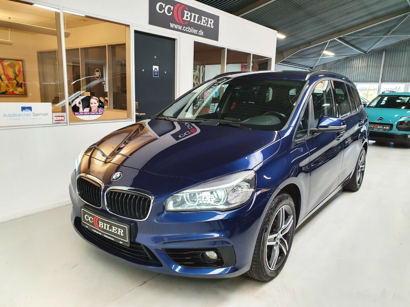 BMW 220d 2,0 Gran Tourer Advantage xDrive 5d - 274.900 kr.