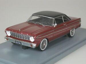 Ford-Falcon-Futura-Sprint-1964-Dark-Red-Black-1-43-Neo-45674-New
