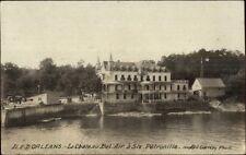Ile D'Orleans La Chateau Bel Air a Ste Petronille Quebec Real Photo Postcard