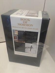 Book of Mormon Personal Revelation Diary-  Brand New-  4 books box set