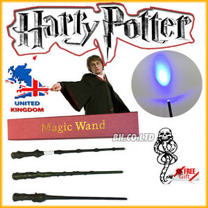 Harry-Potter-Hogwarts-Wizard-13-4-034-Approx-1-1-Scale-LED-Wand-Scarf-Tie-in-Box