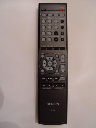 Denon RC-1196 Remote Control Part # 30701017000AD For AVR-S500BT