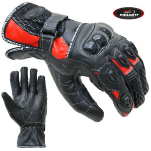 Gr. XS-XXL PROANTI Motorradhandschuhe Sommer Motorrad Handschuhe kurz